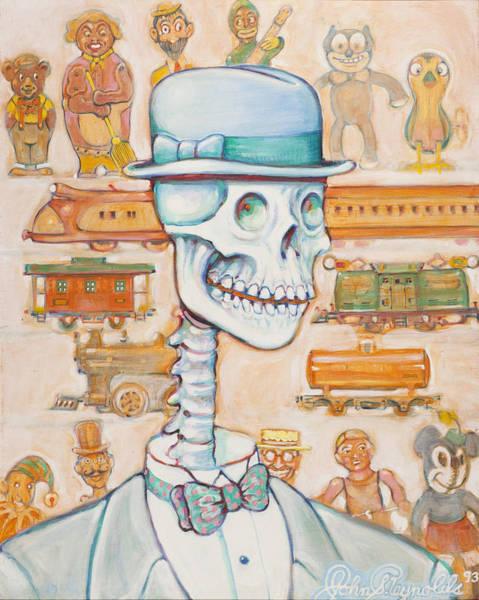 Painting - Toy Bones by John Reynolds