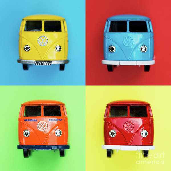 Wall Art - Photograph - Toy Campers by Tim Gainey