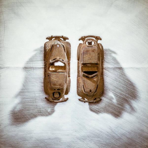 Wall Art - Photograph - Toy Car On White by Yo Pedro