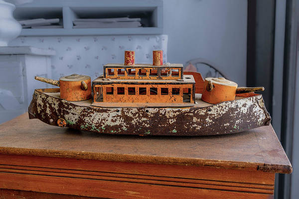 Photograph - Toy Gunboat by Gene Parks