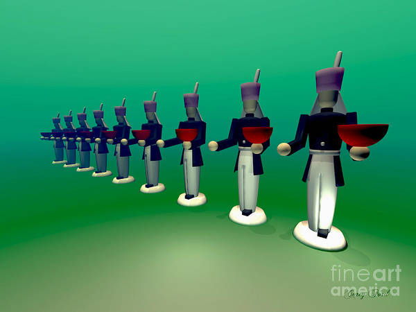 Bauble Digital Art - Toy Soldiers by Corey Ford