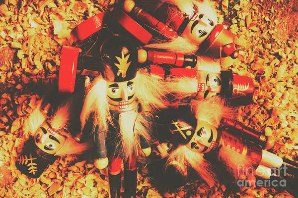 Cracker Photograph - Toy Workshop Soldiers by Jorgo Photography - Wall Art Gallery