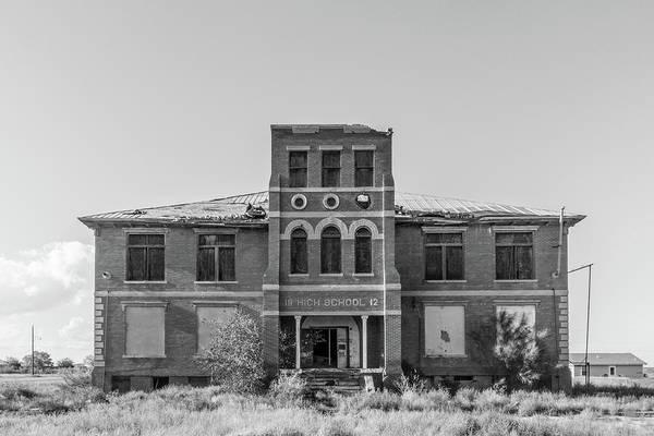 Photograph - Toyah High School by SR Green