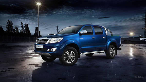 Transport Photograph - Toyota Hilux by Mariel Mcmeeking