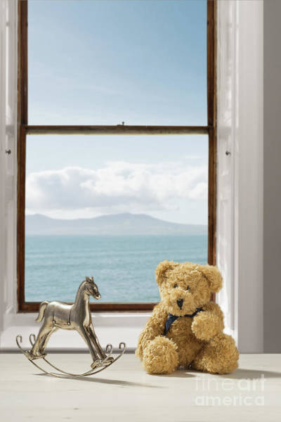 Wall Art - Photograph - Toys Overlooking The Ocean by Amanda Elwell
