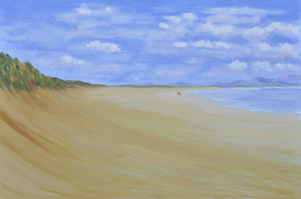 Donegal Painting - Tra Mor by John Farley