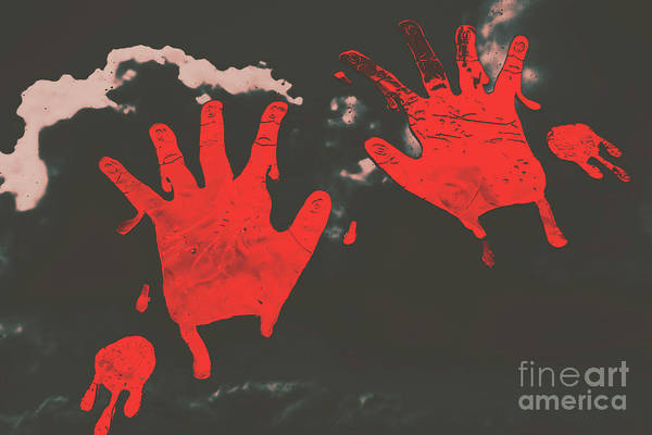Kill Photograph - Trace Of A Serial Killer by Jorgo Photography - Wall Art Gallery