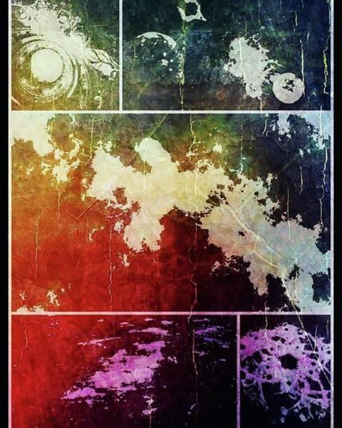 Photograph - Traces #art #digitalart #fractals by Michal Dunaj