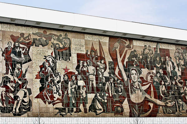 Idealism Wall Art - Photograph - Traces Of Socialist Idealism In Dresden by Christine Till