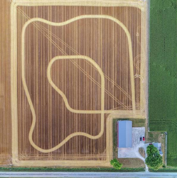 Photograph - Track In The Field by Nick Smith