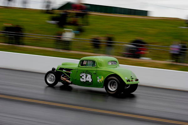 Photograph - Track Time - Santa Pod by Perggals - Stacey Turner