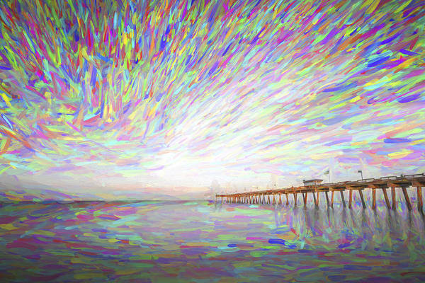 Digital Paint Digital Art - Tracking The Sky II by Jon Glaser