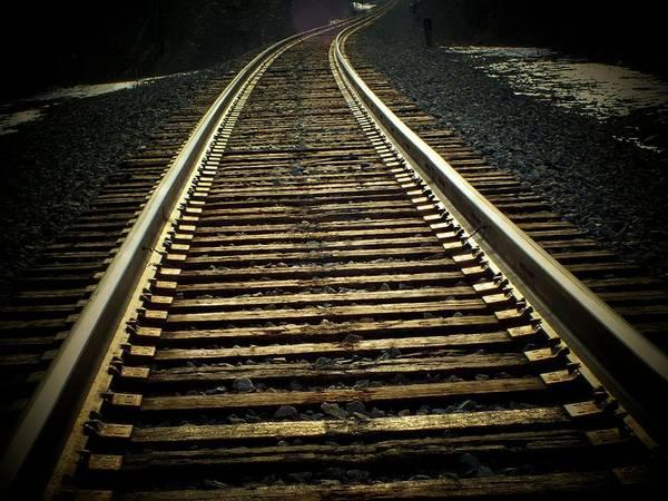 Rr Photograph - Tracks by Michael L Kimble
