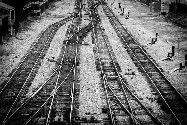 Photograph - Tracks Of Roanoke by Dale R Carlson