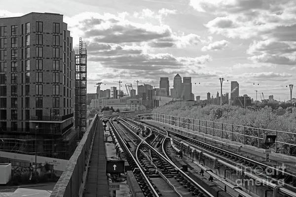 Photograph - Tracks To London by Julia Gavin