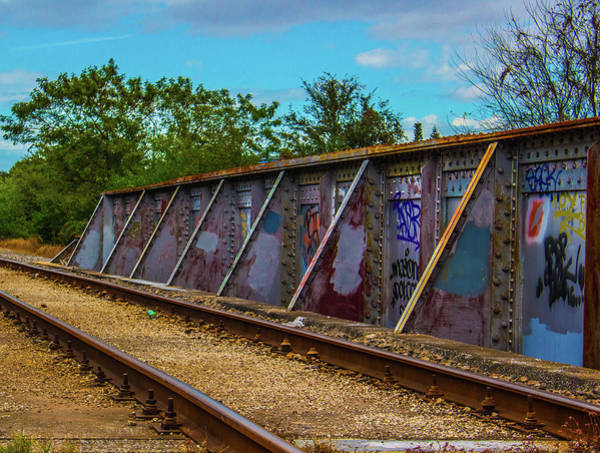 Wall Art - Photograph - Tracks To Nowere by Scotty Sanders