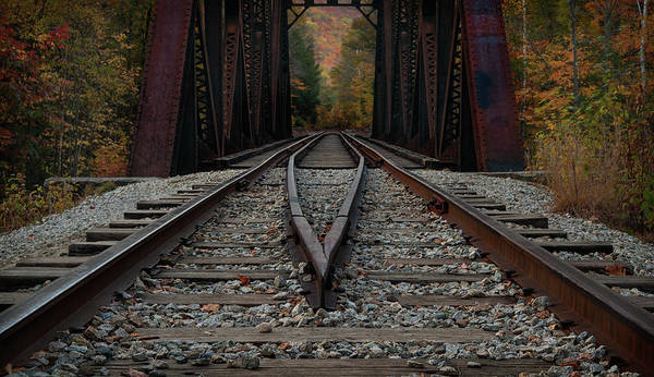 Photograph - Tracks To The Mountains by Darylann Leonard Photography