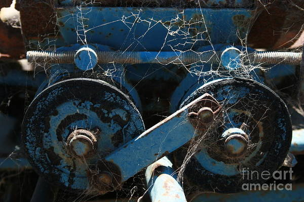 Photograph - Tractor Engine IIi by Stephen Mitchell