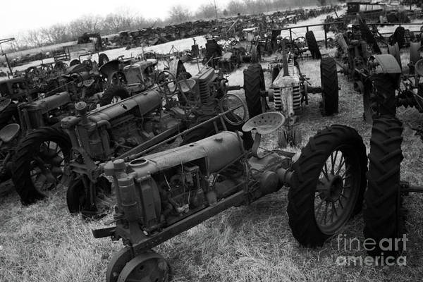 Wall Art - Photograph - Tractor Gang by Joy Tudor