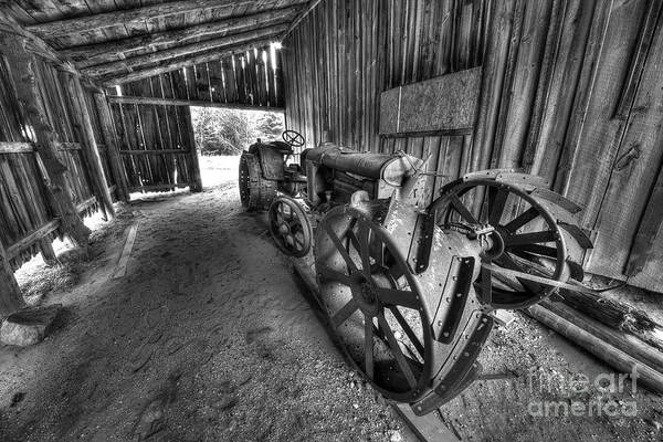 Wall Art - Photograph - Tractor In Port Oneida by Twenty Two North Photography