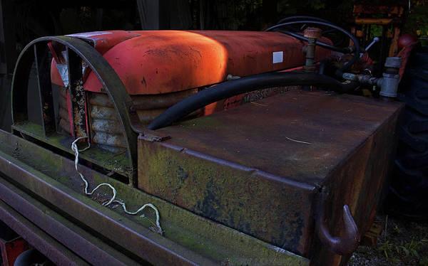 Farms Digital Art - Tractor by Jerry LoFaro