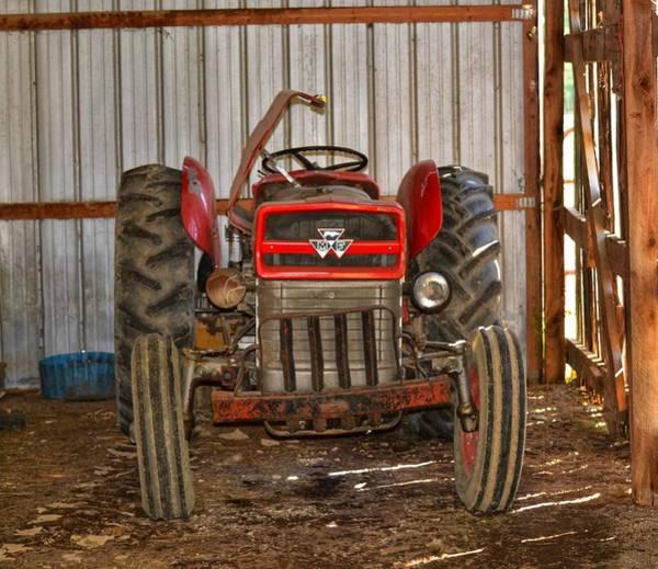 Tractor  Art Print