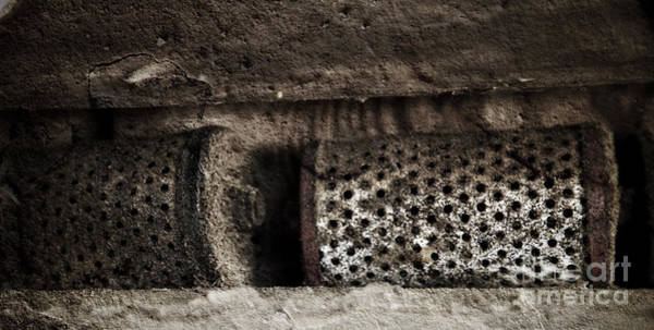 Photograph - Tractor Oil Filters At The Barn 2 by Pete Hellmann