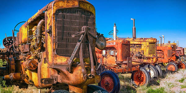 Photograph - Tractor Supply by Daniel George