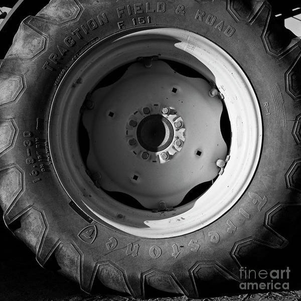 Photograph - Tractor Tire 1 by Patrick M Lynch