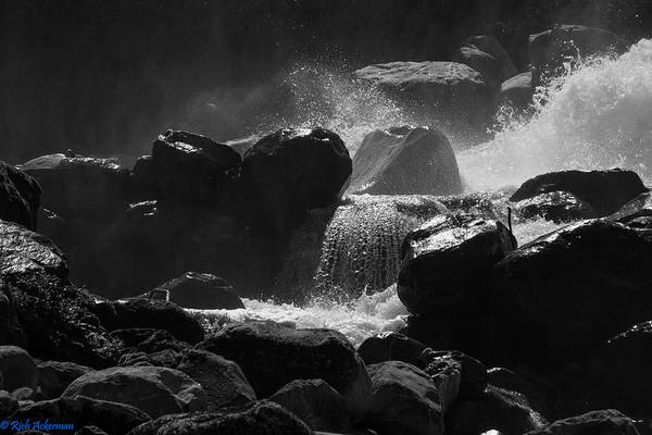 Photograph - Tracy Arm Waterfall by Rich Ackerman