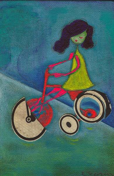 Tracy Cycles Art Print by Ricky Sencion