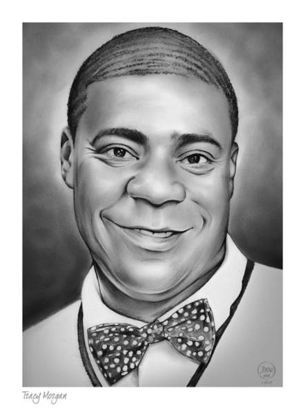 Jordan Wall Art - Drawing - Tracy Morgan by Greg Joens
