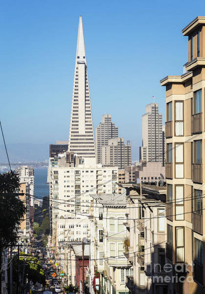 Photograph - Traditional Architecture Of San Francisco With The Transamerica  by Didier Marti