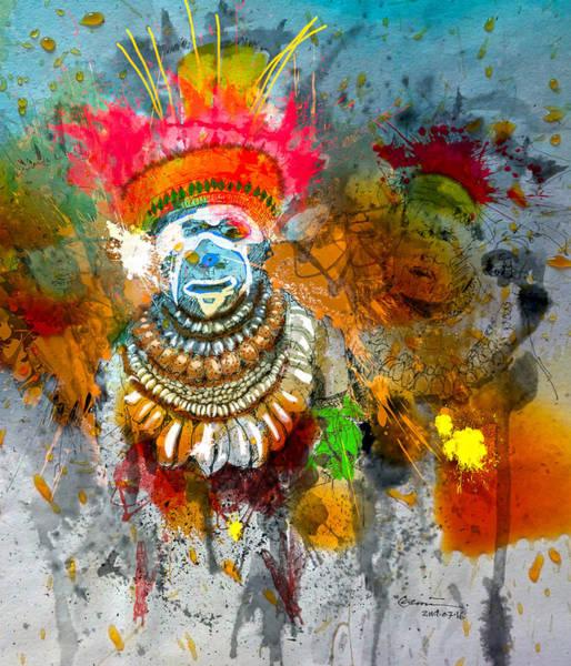 Tribal Dance Digital Art - Traditional Beauty by Clinton Caleb