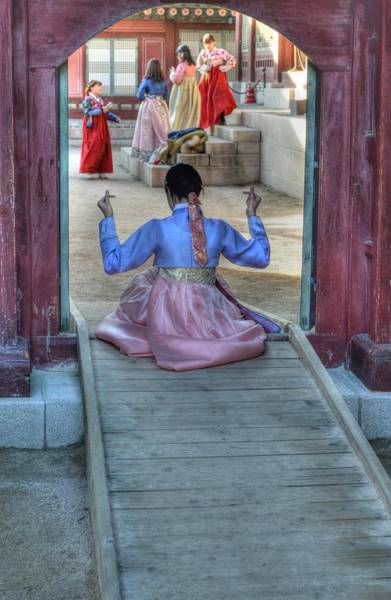 Photograph - Traditional Clothes In Korea by Bill Hamilton