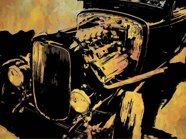 Digital Art - Traditional Hemi Rust by David King