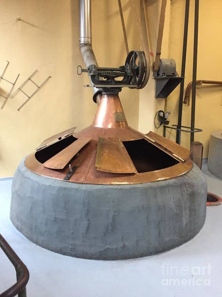 Brewery Wall Art - Photograph - Traditional Kettle by Evan N