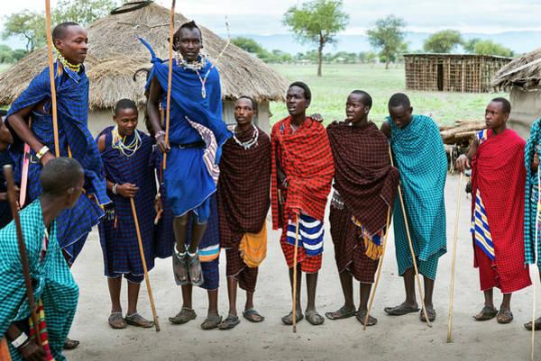 Photograph - Traditional Maasai Jumping Dance by RicardMN Photography