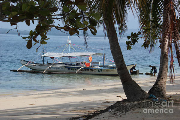 Photograph - Traditional Philippine Fishing Boat by Wilko Van de Kamp