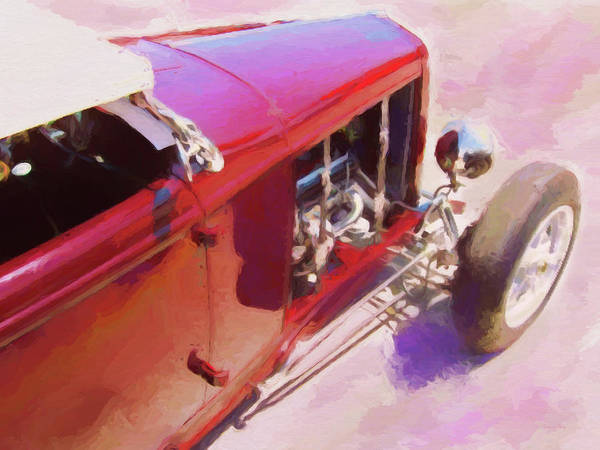 Digital Art - Traditional Roadster Dop by David King