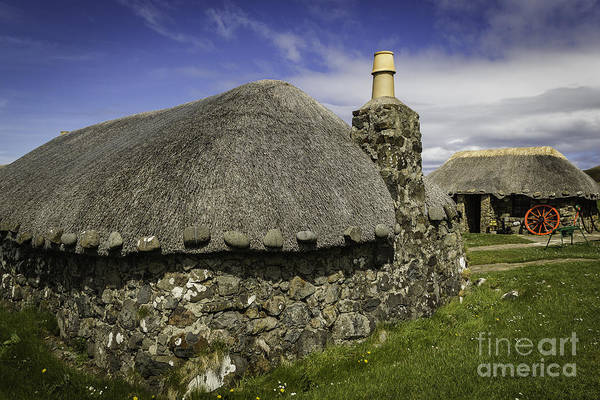 Traditional Scottish Croft Art Print