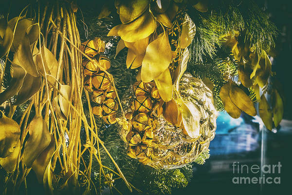 Photograph - Traditional Winter Decoration by Ariadna De Raadt