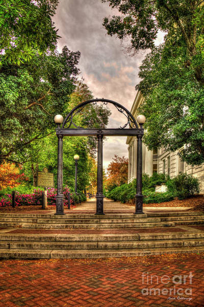 Photograph - Traditions Live On 3 The Arch Uga  Athens Georgia Fall Art by Reid Callaway