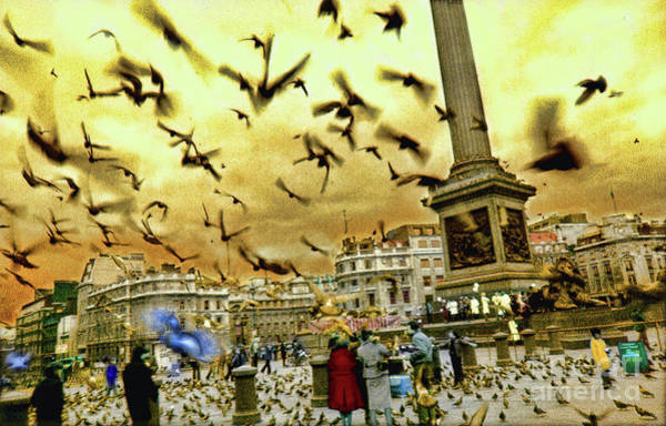 Photograph - Trafalgar Square by Jeff Breiman