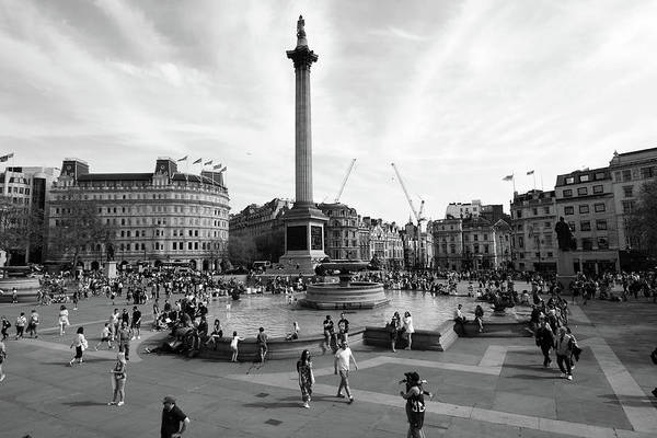 Photograph - Trafalgar Square, London, England by Aidan Moran