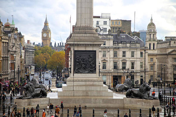 Photograph - Trafalgar Square Number 1 by John Meader