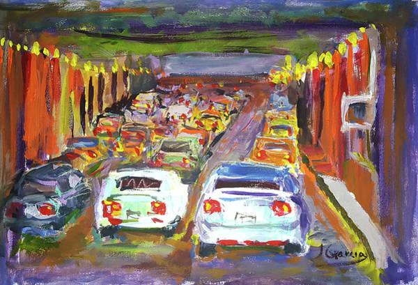 Painting - Traffic Jam by Janet Garcia