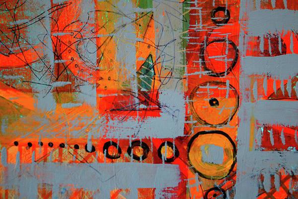 Wall Art - Painting - Traffic by Nancy Merkle