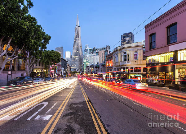 Photograph - Traffic Rush In San Francisco by Didier Marti