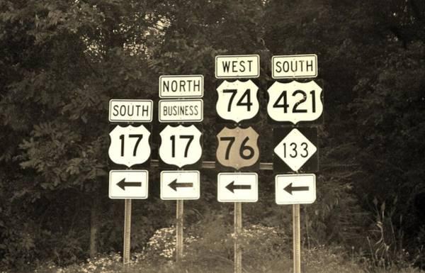 Photograph - Traffic Signs by Cynthia Guinn